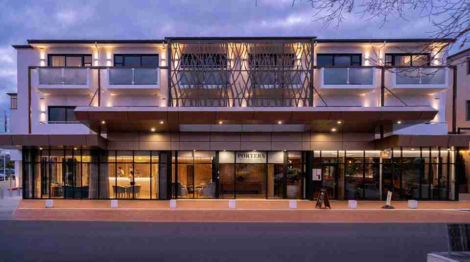 hawkes bay porters boutique hotel