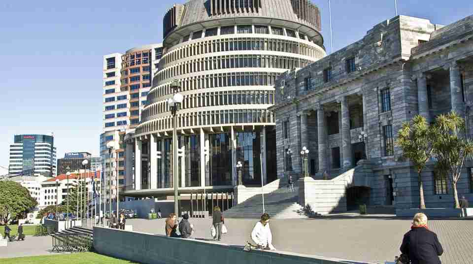 wellington parliament the beehive